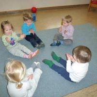 Kinderkrippe Baden-Baden; Die Spatzen gehen turnen 1