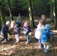 Mit den Kleinen im Wald